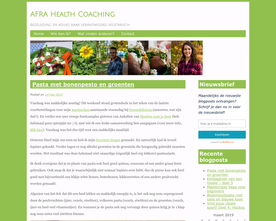 Afra Health Coaching