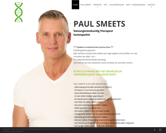 Healthcoach Paul Smeets
